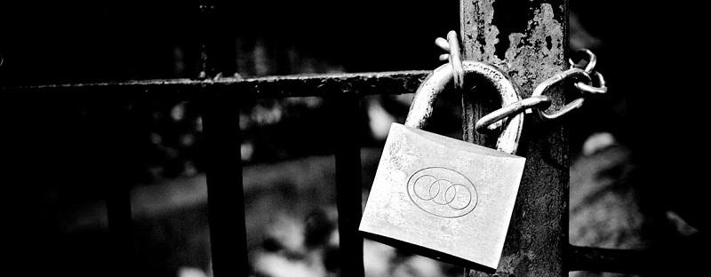 lock-on-a-gate